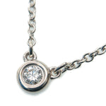 Tiffany&Co.-By-the-Yard-1P-Diamond-Necklace-0.05ct-Silver