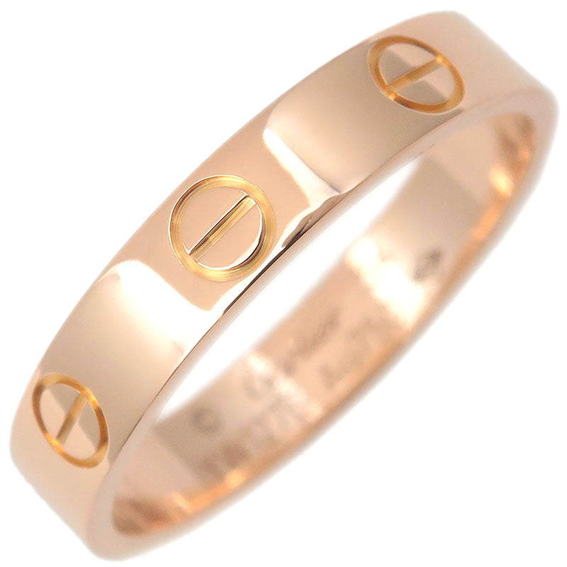 Cartier-Mini-Love-Ring-K18-750-Rose-Gold-#54-US7-HK15.5-EU54