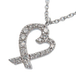 Tiffany&Co.-Loving-Heart-Diamond-Necklace-K18-750-White-Gold