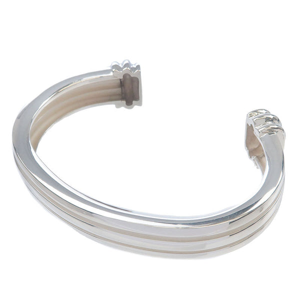 Tiffany&Co.-Atlas-Groove-Cuff-Bangle-Bracelet-925-Silver