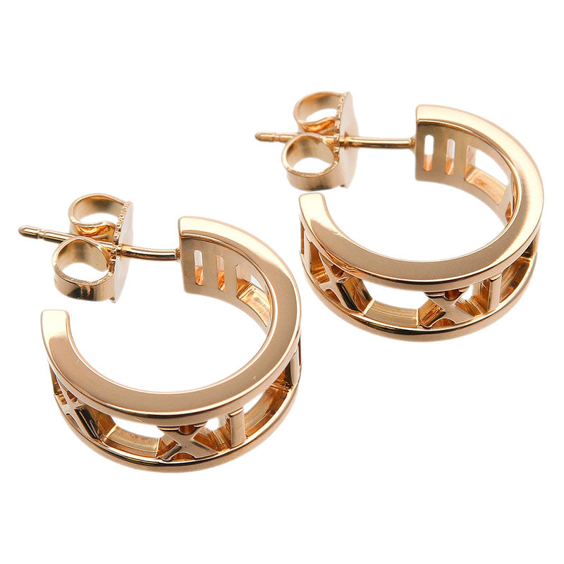 Tiffany&Co.-Atlas-Hoop-Earring-K18PG-Rose-Gold