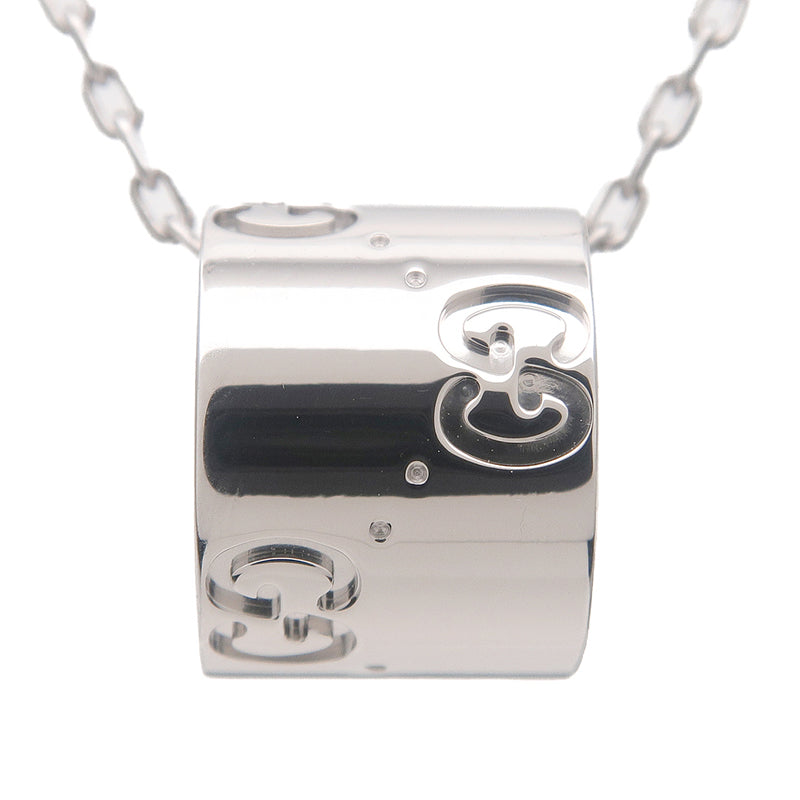 GUCCI ICON Necklace K18WG 750WG White Gold-dct-ep_vintage luxury Store
