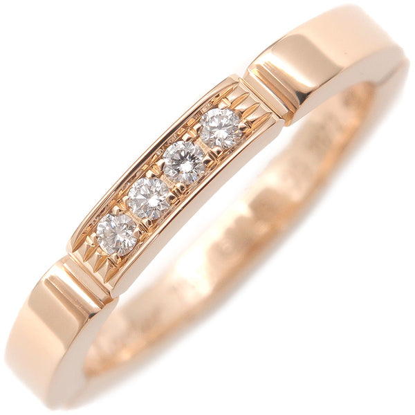 Cartier maillon panthère Ring 4P Diamond Rose Gold #49 US5 EU49-dct-ep_vintage luxury Store