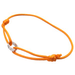 Cartier Love Cord Bracelet K18 750 White Gold Orange