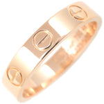 Cartier Mini Love Ring K18 Rose Gold #48 US4.5 EU48