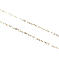 Tiffany&Co. Loving Heart Necklace K18YG 750YG Yellow Gold