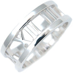 Tiffany&Co.-Atlas-Open-Ring-K18-White-Gold-US6.5-HK14-EU53