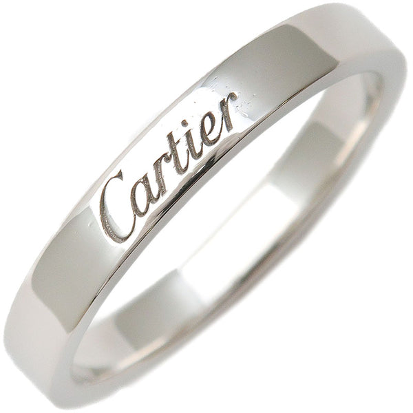 Cartier-Engraved-Ring-PT950-Platinum-#57-US8-HK18-EU57