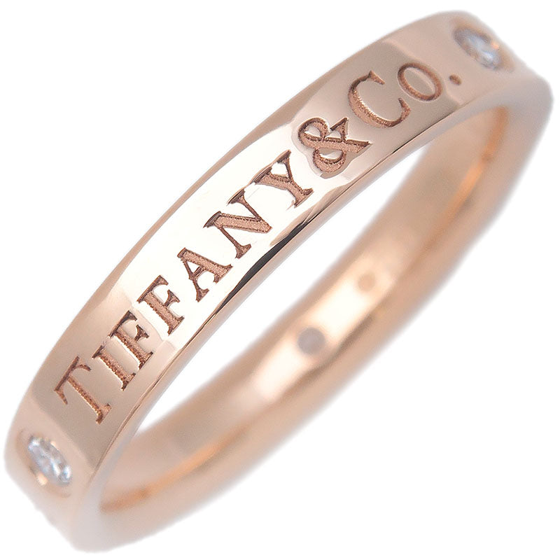Tiffany&Co.-Flat-Band-3P-Diamond-Ring-Rose-Gold-US5-HK10.5-EU49