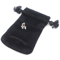 Chrome Hearts Tiny E CH Plus Single Drop Earring Silver 925-dct-ep_vintage luxury Store