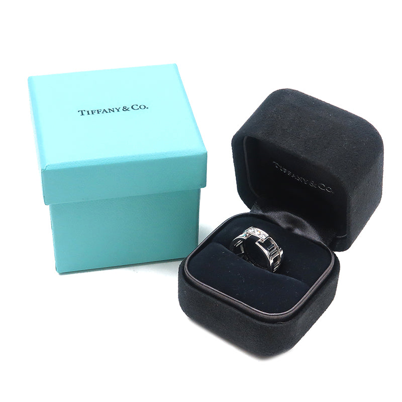 Tiffany&Co. Atlas Open 3P Diamond Ring White Gold US5 HK11 EU50-dct-ep_vintage luxury Store