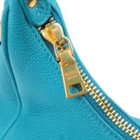 PRADA Leather Shoulder Bag Turquoise Blue M4311M-dct-ep_vintage luxury Store