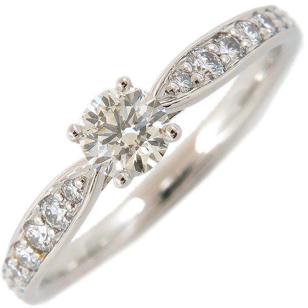Tiffany&Co. Harmony Diamond Ring 0.22ct Platinum US5 HK10.5 EU49