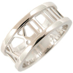 Tiffany&Co. Atlas Open Ring K18 White Gold US4 HK8.5 EU47