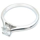 Cartier Solitaire 1895 Diamond Ring 0.36ct Platinum #51 US5.5 EU51