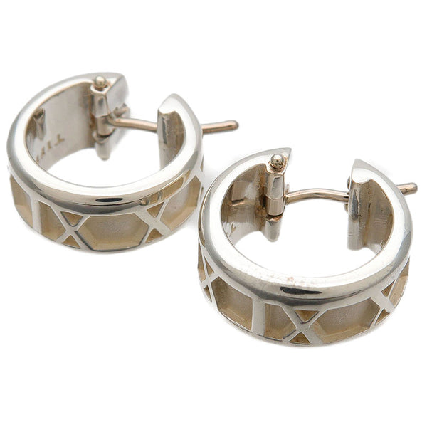 Tiffany&Co.-Atlas-Hoop-Earring-SV925-Silver