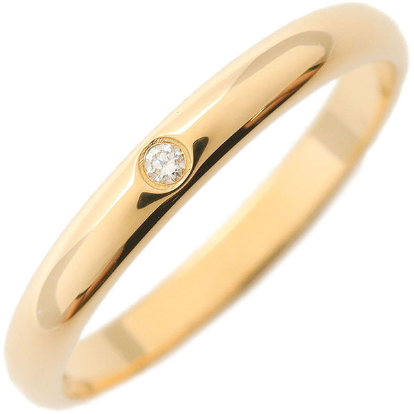 Cartier-Wedding-Ring-1P-Diamond-Yellow-Gold-#51-US5.5-6-EU51