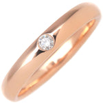 HARRY-WINSTON-Round-Marriage-Ring-1P-Diamond-Rose-Gold-US6