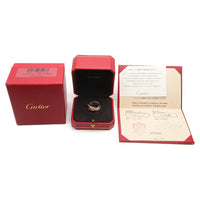 Cartier Trinity Ring Full Diamond YG/WG/PG #50 US4.5 EU48-dct-ep_vintage luxury Store