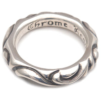 Chrome Hearts Scroll Band Ring Silver 925 US9 HK20 EU60-dct-ep_vintage luxury Store