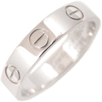 Cartier Mini Love Ring Platinum PT950 #47 US4 EU47-47.5
