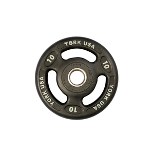 York Barbell | Olympic Plates - ISO-Grip Urethane Encased