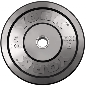 York Barbell | Solid Rubber Training Bumper Plates - Color - Kilos - XTC Fitness