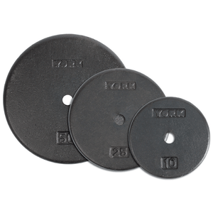 York Barbell | Standard Pro Plates - 1""