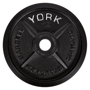 "York Barbell | Olympic Plates - ""Legacy"" Precision Milled - XTC Fitness"
