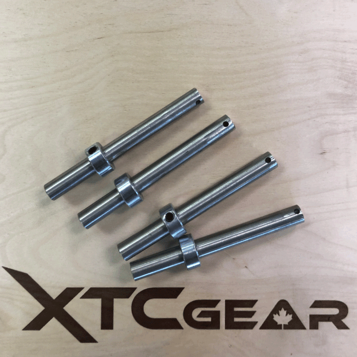 XTC Gear | Stainless Steel Adjustable Band Pegs