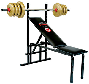 York Barbell | 102 Bench - XTC Fitness - Toronto, Canada