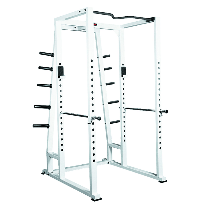 York Barbell | STS Power Rack w/ Weight Storage