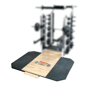 York Barbell | Solid Oak Platform (for use with Inset) - XTC Fitness - Toronto, Canada