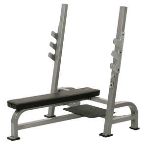 York Barbell | STS Olympic Bench w/ Gun Racks - XTC Fitness - Toronto, Canada