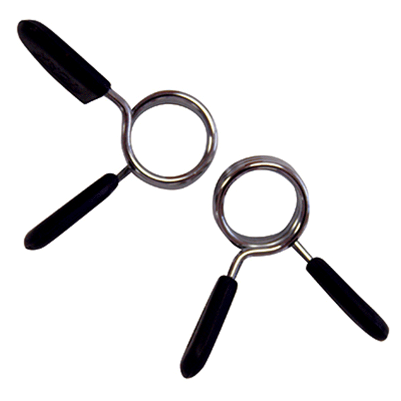 "York Barbell | Spring Collar - Standard Size - 1"" (Pair) - XTC Fitness - Toronto, Canada"