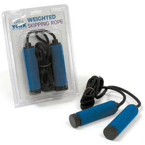 York Barbell | Skipping Rope - 2Lb Cotton Weighted