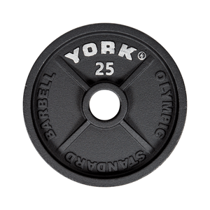 York Barbell | Olympic Plates - Standard - XTC Fitness - Toronto, Canada