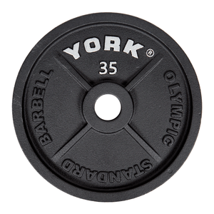 York Barbell | Olympic Plates - Standard
