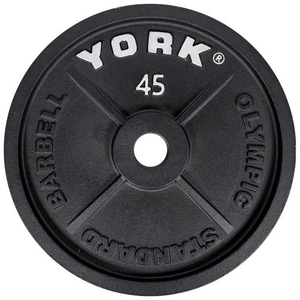 York Barbell | Olympic Plates - Standard - XTC Fitness