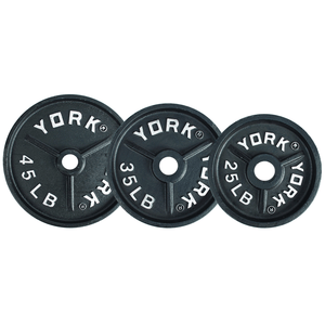 York Barbell | Olympic Plates - Deep Dish - XTC Fitness