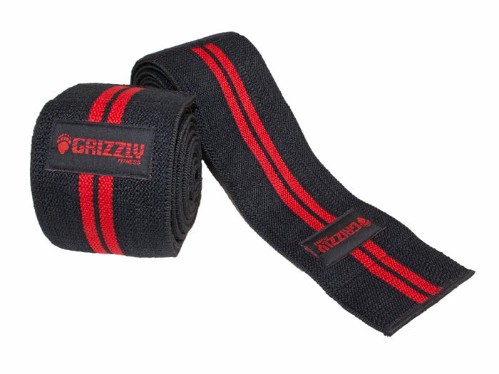 Grizzly Fitness | Power Lifting Knee Wraps