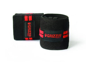 Grizzly Fitness | Red Line Wrist Wraps - XTC Fitness - Toronto, Canada