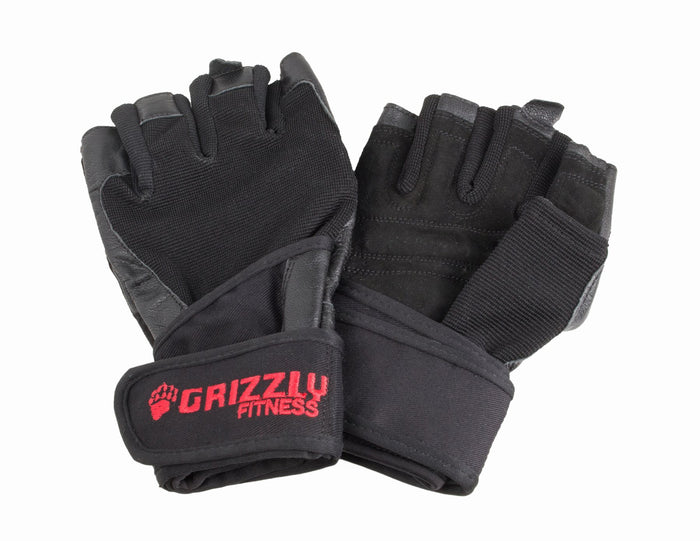 Grizzly Fitness | Wrist Wrap Gloves - Nytro