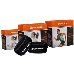 Iron Body Fitness | Slip-On Wrist Weights (Pair) - XTC Fitness