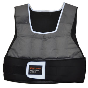 Iron Body Fitness | Flex Fit Weight Vest - 20lb - XTC Fitness - Toronto, Canada