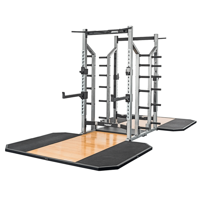 York Barbell | STS Double Half Rack
