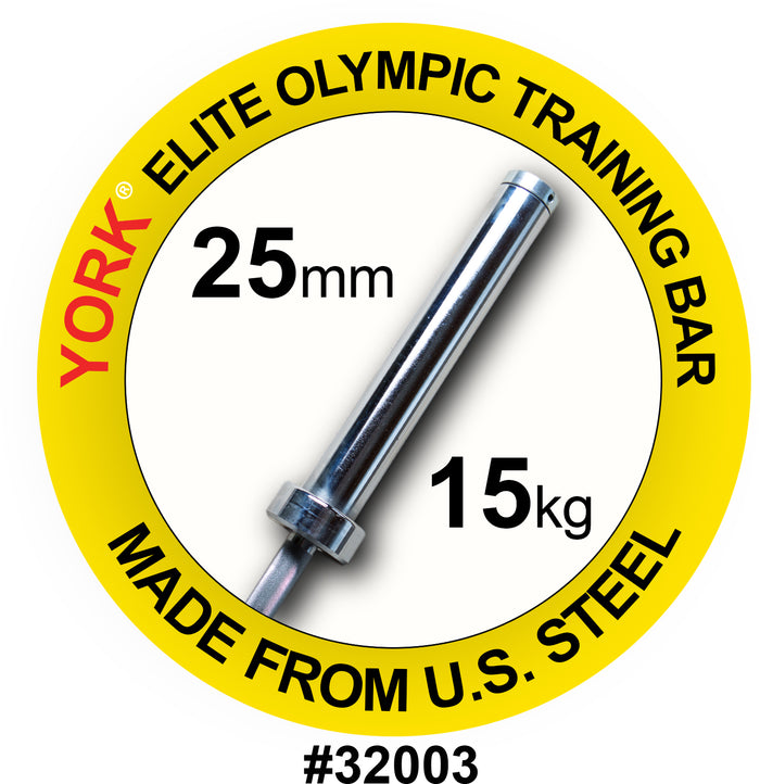 York Barbell | Women's Elite Training Bar - 25mm