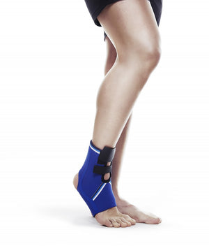 Rehband | Blue Line Ankle Support - 7085 - XTC Fitness - Toronto, Canada