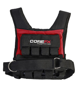 COREFX | Weighted Vest - 40LB - XTC Fitness - Toronto, Canada