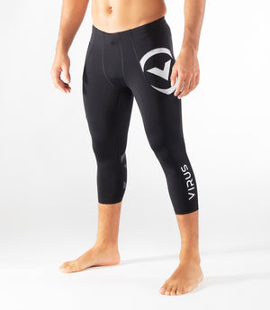 Virus | CO53 Racer Stay Cool Compression Tech Pant 3/4 Boot Cut - XTC Fitness - Toronto, Canada